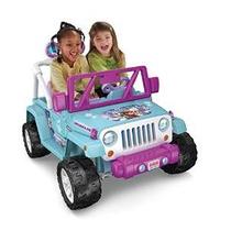 Power Wheels Jeep Wrangler Frozen