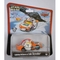 Rayo Mcqueen Como Luke Skywalker Star Was Cars Disney Pixar