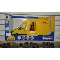 * Camioneta Dhl Bruder Original Nueva