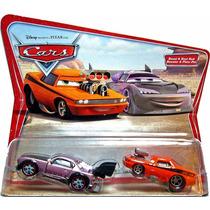 Cars Disney Snot Rod & Boost. Desert Card. 1ra. Edicion.