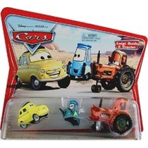 Cars Disney Luigo, Guido Tractor. Desert Card. 1ra. Edicion