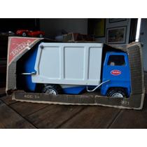Vintage Tonka Camion De Basura Hecho En Usa C/ Caja Original