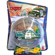 Cars Disney Christmas Holiday Spirit Sheriff. W.o.c.