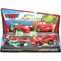 Cars Disney Francesco Bernoulli & Mcqueen Party Wheels.
