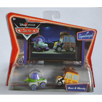 Set Buzz & Woody Cars Disney Pixar