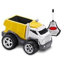 Kid Galaxy Suave Y Squeezable Radio Control Camión Volquete