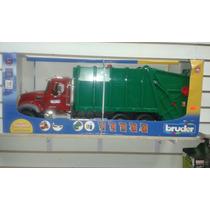 * Mack Granite Garbage Truck Camion D Basura Bruder Original