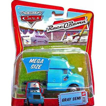 Cars Gray Semi Cabina Trailer # 10 World Of Race O Rama
