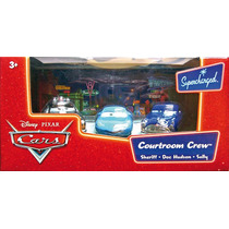 Cars Disney Sheriff, Sally. Doc Hudson.