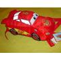 Rayo Mcqueen De Cars En Peluche Mochila Nueva Y Original