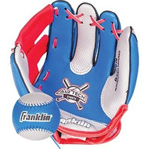 Franklin Deportes Air Tech Soft Foam Béisbol Guante Y Bola D