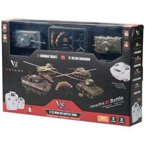 Par Tanques Guerra Tiger I/ Sherman Envio Gratis!