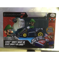 Mini Carro Control Remoto Luigi Mario Kart Nintendo Oficial