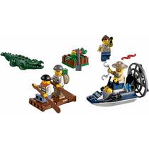 Lego - City 60066 - Set De Introducción Policía Del Pantano