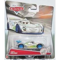 Cars Carla Veloso Silver Plata Racer Series Edicion Disney