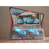 Dinoco Mia & Dinoco Tia (estuche Doble) Disney Pixar Cars