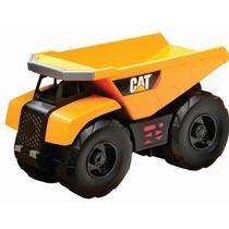 Camion Volteo Caterpillar Motorizado Sonidos C/ Figuras