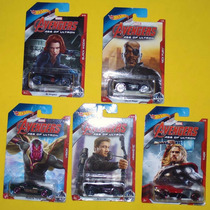 Hot Wheels Avengers ( Lote De Vehiculos )
