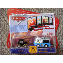 Cars Disney Lizzie & Red. Mini Adventures.