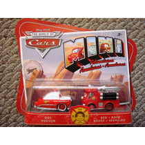 Cars Disney Doc Hudson & Red. Mini Adventures.