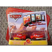 Cars Disney Lightning Ramone & Flo. Mini Adventures.