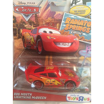 Big Mouth Lightning Mcqueen Cars Metal Escala 1:55 Disney