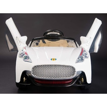 Carrito Electrico Maserati Blanco Control Remoto Mp3 License