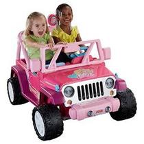 El Poder Rueda De Barbie Jazmín Jeep Wrangler