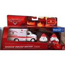 Rescue Squad Mater Dalmata Tia Y Mia Y Ambulancia Cars