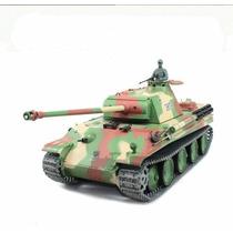 Tanque Rc German Panther Con Sonido Y Humo Mygeektoy