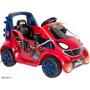 Carro Para Niños De 6 Voltios Spider-man