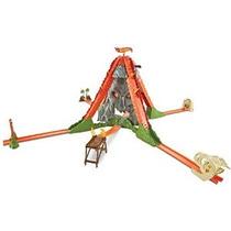 Hot Wheels Pista Constructor Volcán Escapar Trackset (libre