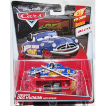 Cars Disney Fabulous Doc Hudson With Stand. Lo +++ Nuevo !!!