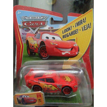 Cars Mc Queen Ojos Movibles