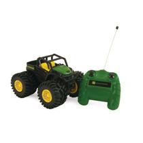 Tractor De Control Remoto Jhon Deere Monster Vv4
