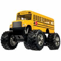 Toysmith Monster Bus 5 Pulgadas Camion Escolar Mounstro