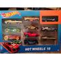 Hot Wheels Paquete De 10 Automóviles Mattel