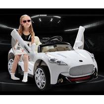 Carrito Electrico Maserati Control Blanco Remoto Mp3 License