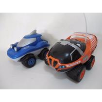 Lote 2 Carros Anfibios Vehiculo Carro Control Remoto D958