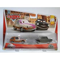 Set Tubbs Pacer Con Pintura Rociada Y Tolga Trunkov Cars 2