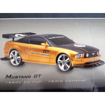 Ford Mustang Gt S-1 2007 Rc Control Remoto 40 Cms