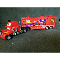 Cars Trailer Mack + 4 Cars De Regalo Solo 320 Pesos