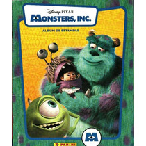 Album Panini Monster Inc. Disney Pixar Faltan 4
