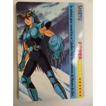 Carta Caballero Del Zodiaco Shiryu Bandai 1993 Spain 1a Edic