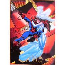 Spider Man La Boda / Marvel Comics Pepsi Cards 41 / Tarjetas