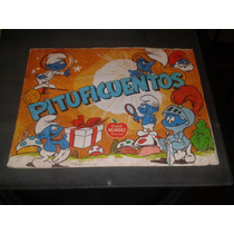 Album De Estampas Pitufos Pituficuentos Sidral Mundet