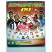 Albun Superfutbol 2009 Panini Casi Lleno