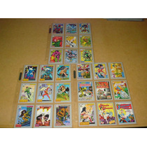 Dc Question & Answer Cards Impel 1991 Trading Cards Jla Wond