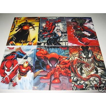 Tarjetas Marvel Spiderman Archives Set Completo