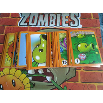 Estampas Para Albúm Plants Vs Zombies.